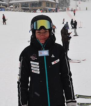 Ivana Milovanovic ski instruktor