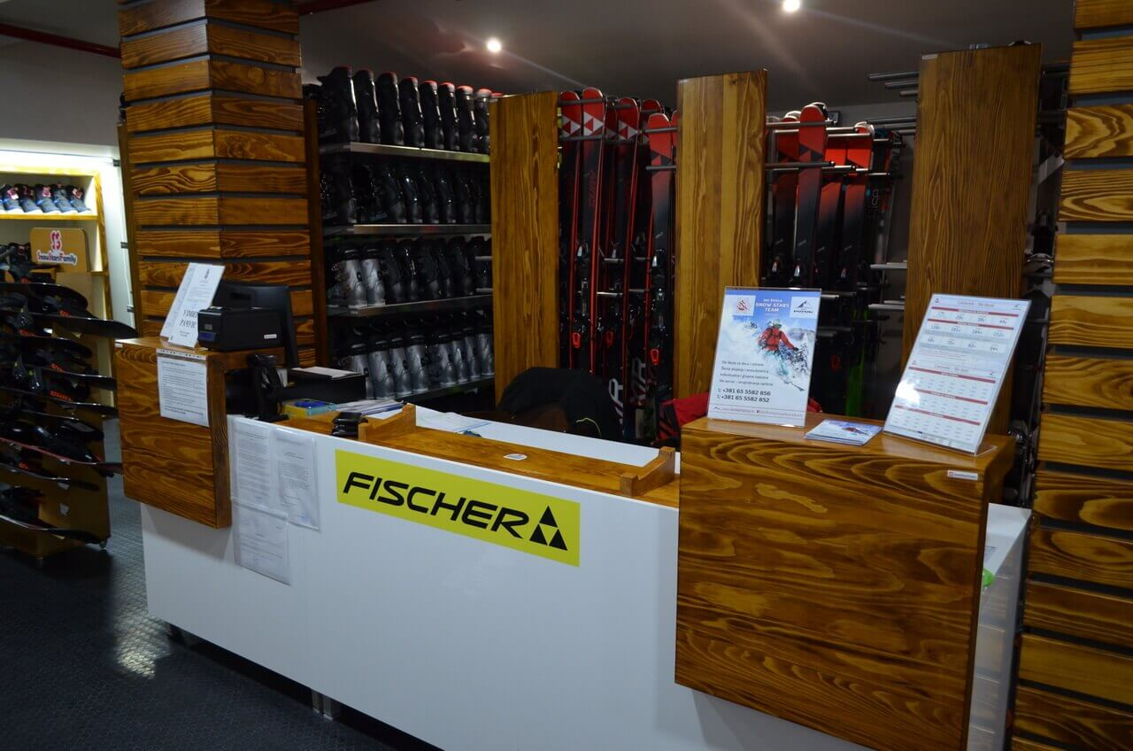 Ski oprema i ski servis
