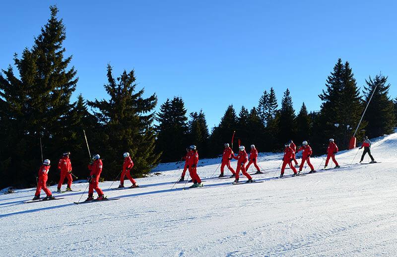 Trening Ski škole